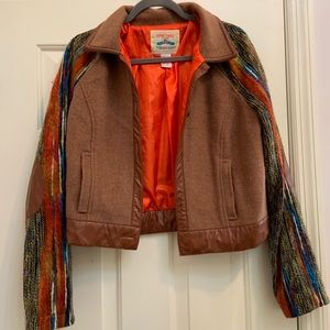 FLYING TOMATO Serape western Jacket